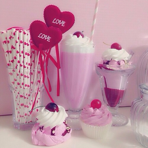 pink, sweet, and love image