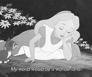 wonderland, alice, and disney image