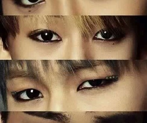 ojos, eyes, and got7 image