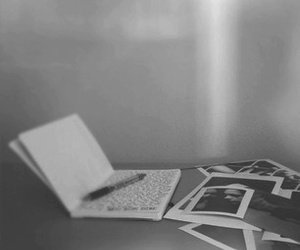 black and white, memories, and photo image