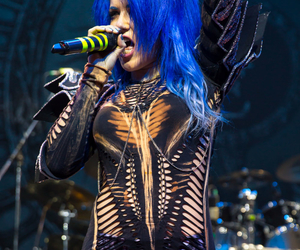 arch enemy, alissa white gluz, and queenbeast image