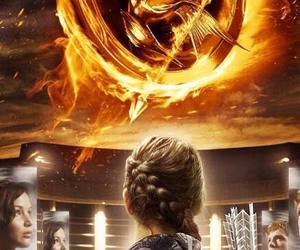 hunger games, katniss, and the hunger games image