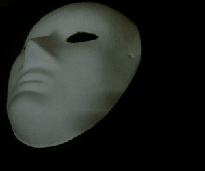 black, dark, and mask image