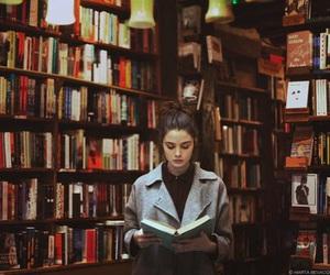 lots, shelfs, and books image