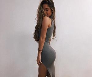 body, dress, and skinny image
