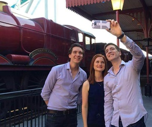 harry potter, bonnie wright, and ginny weasley image