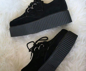black, creepers, and my image