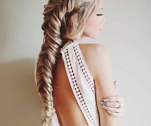 braid, wonderful, and colors image