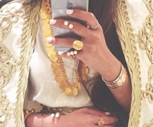 bijoux, fashion, and gold image