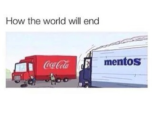 funny, mentos, and lol image