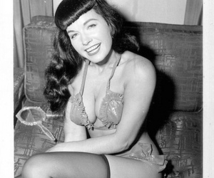 photograph, pinup, and Bettie Page image