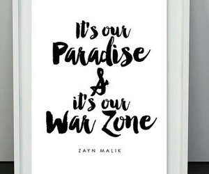 paradise, Pillow Talk, and war zone image