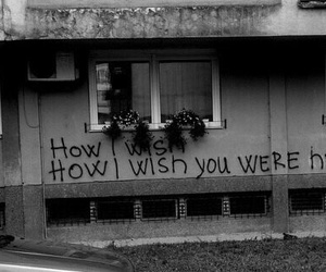 Pink Floyd, black and white, and wish you were here image