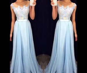 dress, prom dress, and fashion dress image
