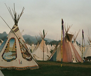 indian, tent, and photography image