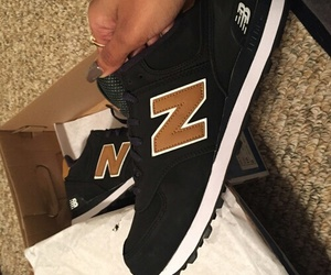 shoes, new balance, and black image