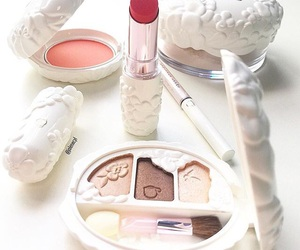 lipstick, makeup, and white image