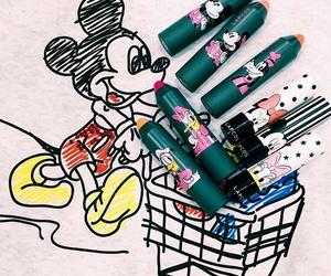 disney, lipstick, and makeup image