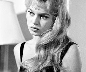 1950s, black and white, and brigitte bardot image