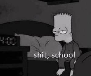 morning, school, and simpson family image