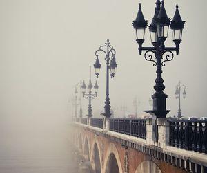 bridge, fog, and france image