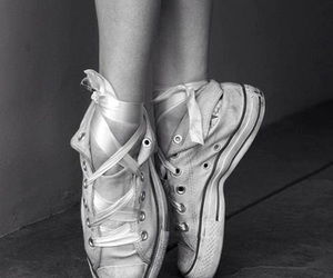 ballet, dance, and converse image