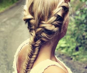 beauty, hair, and fashion image