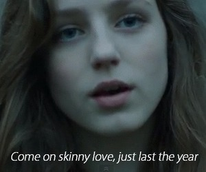 birdy, skinny love, and music image
