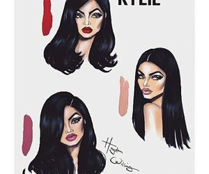 kylie jenner, art, and hayden williams image