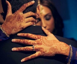 couple and henna image