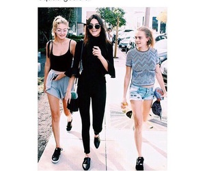 squad, kendall jenner, and cara delevigne image