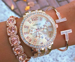 bracelet, fashion, and watch image
