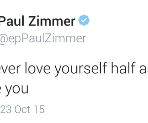 quotes, tweets, and paul zimmer image