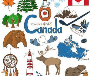 canada, culture, and dibujos image