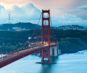 san francisco, bridge, and city image