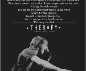 all time low, therapy, and alex gaskarth image