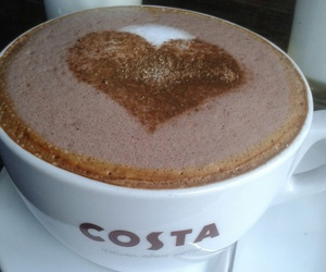 coffee, costa, and cup image