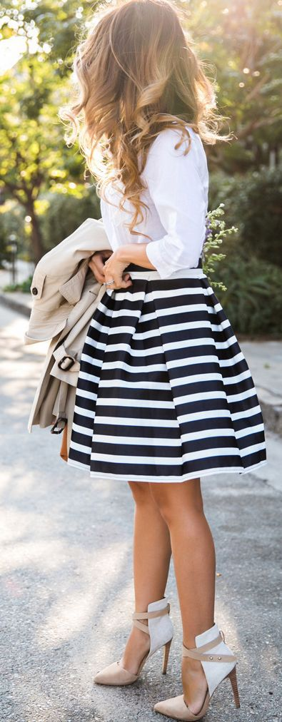 girly, skirt, and heels image