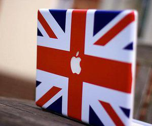 apple, england, and laptop image