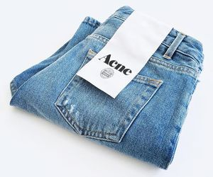 fashion, jeans, and acne image