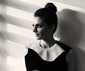 beautiful, black & white, and dress image