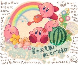 game, kawaii, and kirby image
