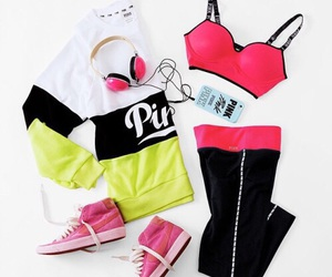 pink, style, and fashion image