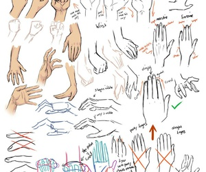 drawing, hands, and Easy image