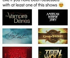 teen wolf, game of thrones, and pretty little liars image