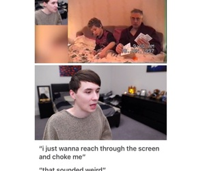 amazingphil, danisnotonfire, and danhowell image