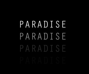 paradise, wallpaper, and black image