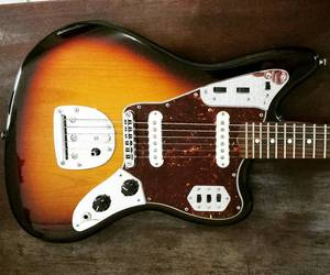 fender, guitar, and jaguar image