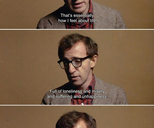 film, quote, and woody allen image