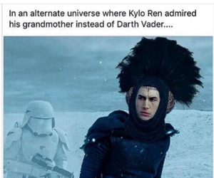 star wars, funny, and kylo ren image